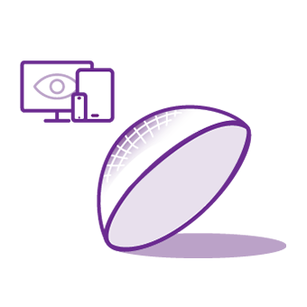 digital devices and contact lenses