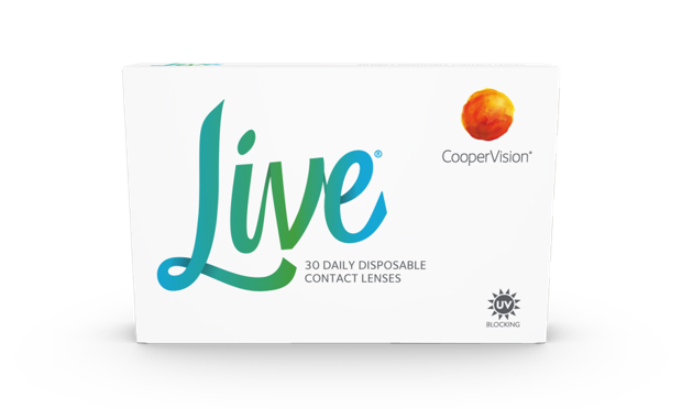 CooperVision Live Contact Lenses
