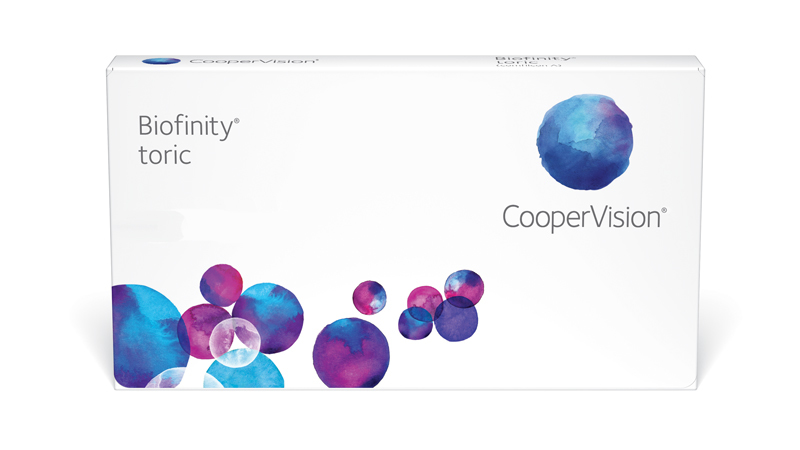 CooperVision Biofinity toric Contact Lenses