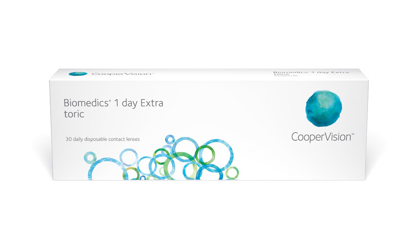 CooperVision Biomedics 1 day Extra toric Contact Lenses
