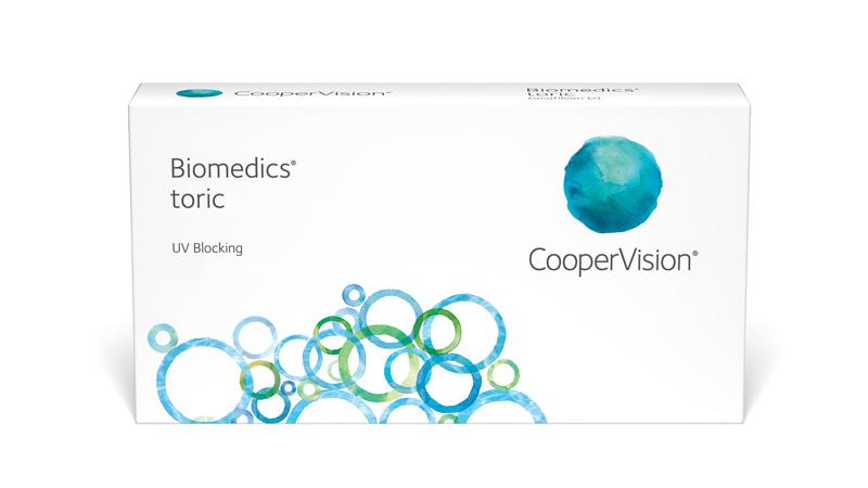 CooperVision Biomedics toric Contact Lenses