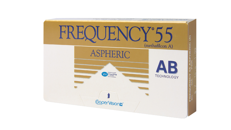 CooperVision Frequency 55 aspheric Contact Lenses