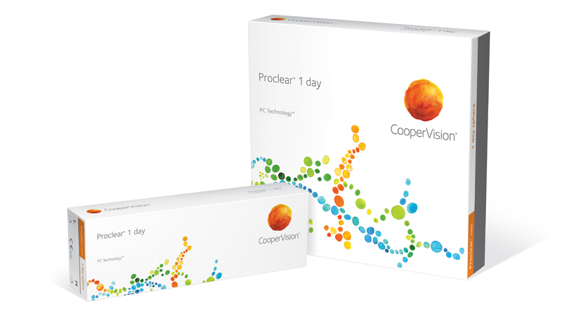 CooperVision Proclear 1 day Contact Lenses