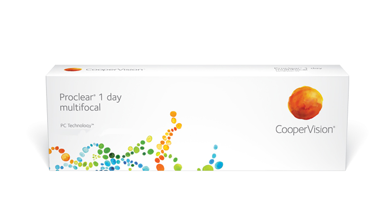 CooperVision Proclear 1 day multifocal Contact Lenses