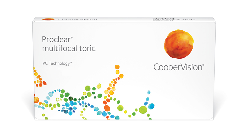 CooperVision Proclear multifocal toric Contact Lenses