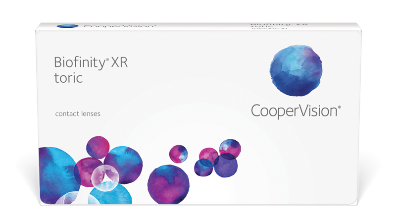 CooperVision Biofinity XR toric Contact Lenses