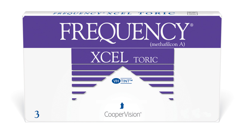CooperVision Frequency xcel toric Contact Lenses