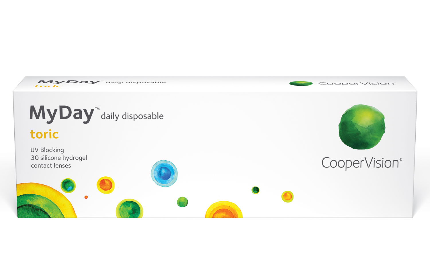 CooperVision MyDay toric Contact Lenses