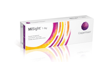 CooperVision MiSight 1 day Contact Lenses