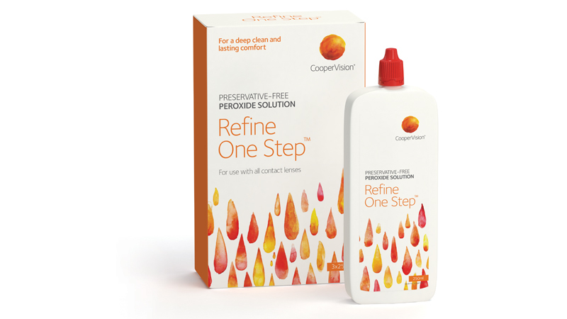 CooperVision Refine One Step Aftercare Solution