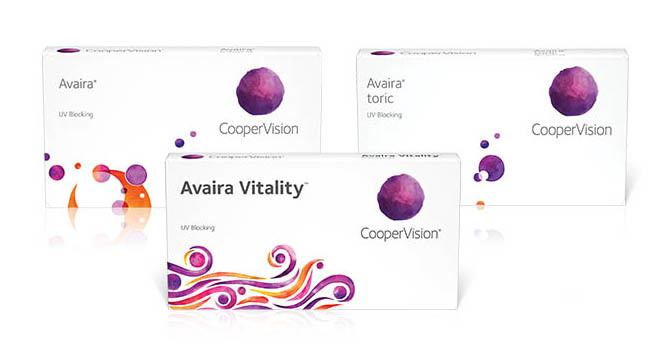 CooperVision Avaira Vitality Family Contact Lenses