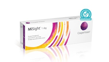 MiSight 1 Day Disposable contact lenses