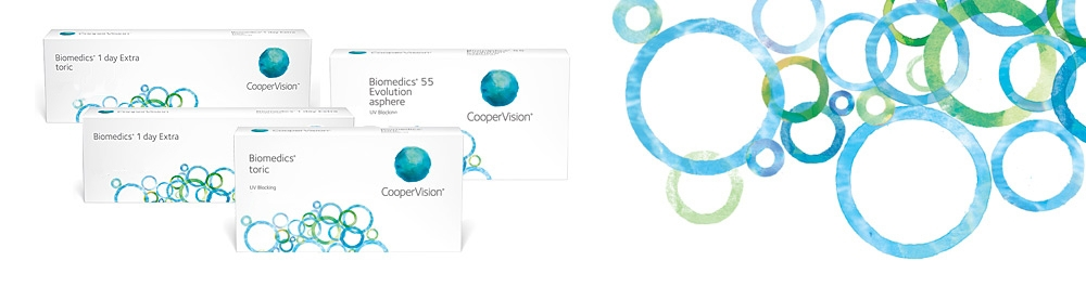 CooperVision Biomedics Family Contact Lenses
