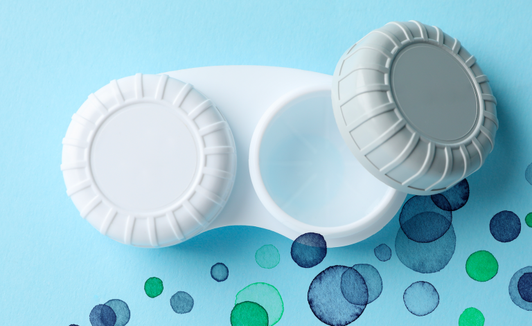 monthly and two-weekly contact lenses