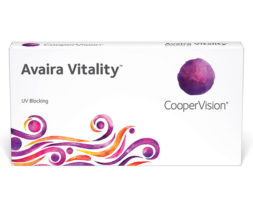 CooperVision Avaira Vitality® contact lenses