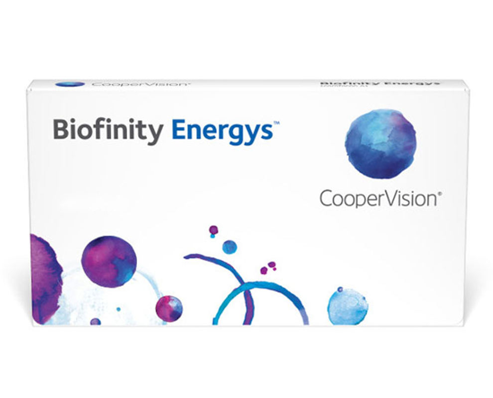 Biofinity Energys® contact lenses