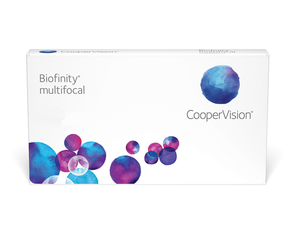 CooperVision Biofinity multifocal contact lenses