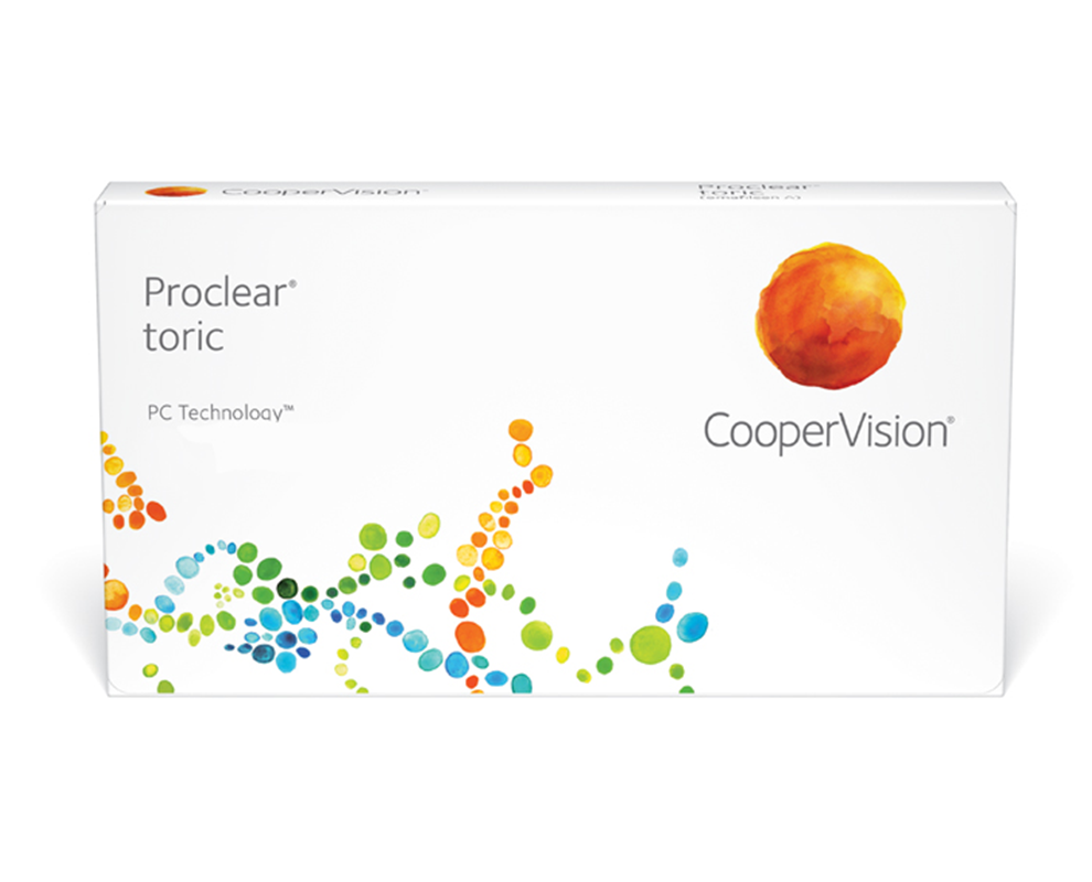 CooperVision Proclear toric contact lenses