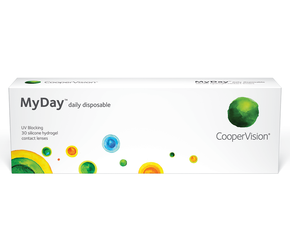 CooperVision MyDay® daily disposable contact lenses