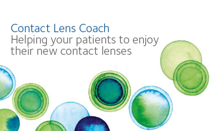 Contact lens coach