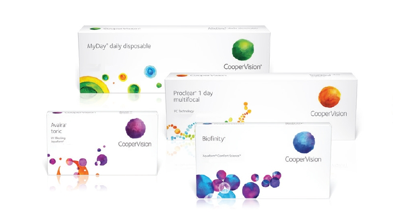 The CooperVision Family of Contact Lenses