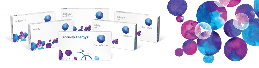CooperVision Biofinity Family Contact Lenses