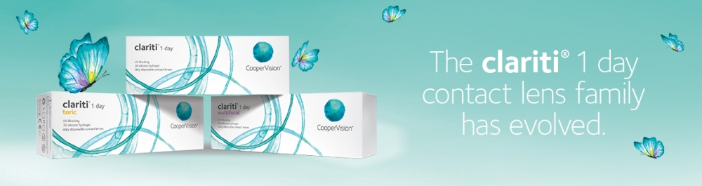 CooperVision clariti 1 day Family Contact Lenses