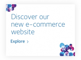 Discover our new e-commerce website