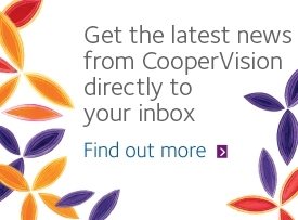 Subscribe to CooperVision marketing updates